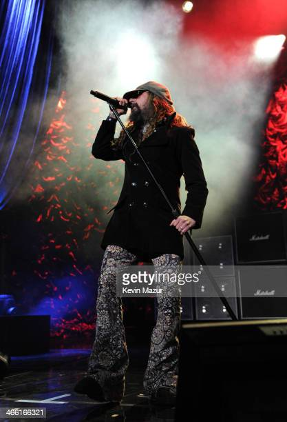 Rob Zombie performs at 'Howard Stern's Birthday Bash' presented by SiriusXM produced by Howard Stern Productions at Hammerstein Ballroom on January...