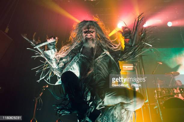 Rob Zombie performs at Le Bataclan on June 19 2019 in Paris France