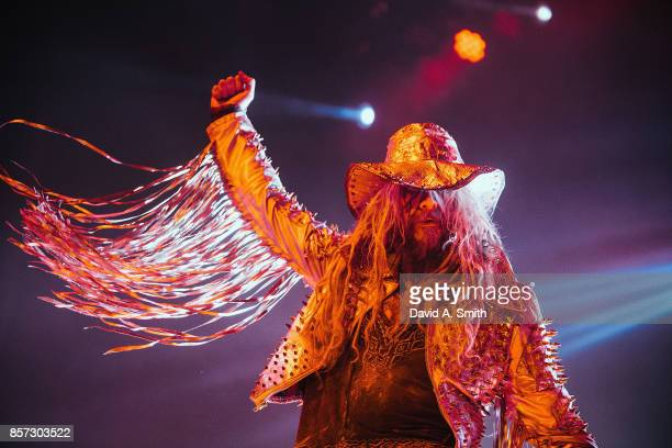 Rob Zombie performs at the Coca Cola Roxy on October 3 2017 in Atlanta Georgia