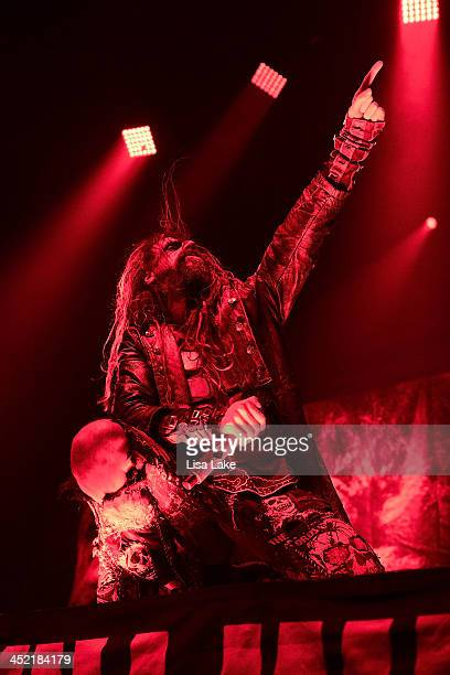 Rob Zombie performs live at Sands Bethlehem Event Center on November 26 2013 in Bethlehem Pennsylvania