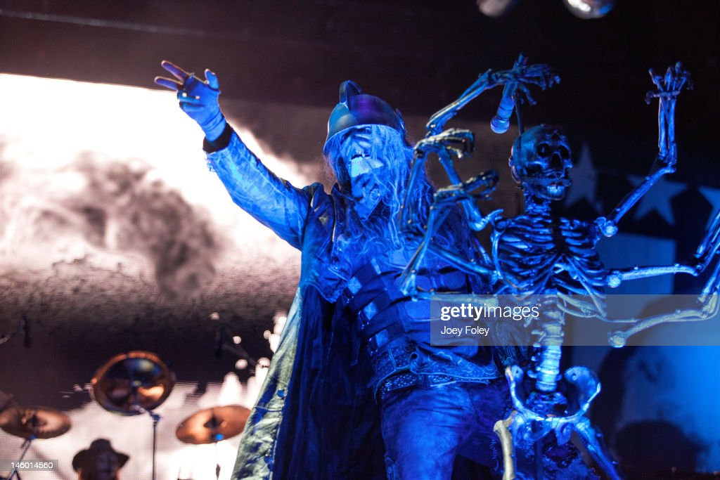 Rob Zombie performs live during the 2012 Rock On The Range festival at Crew Stadium on May 20, 2012 in Columbus, Ohio.