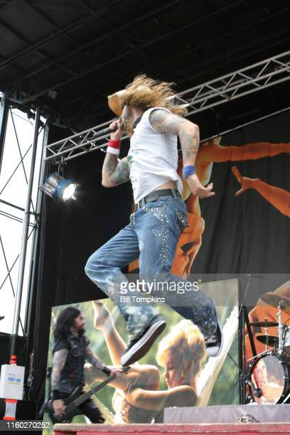 July 19: Rob Zombie performs on July 19, 2005 in East Rutherford.