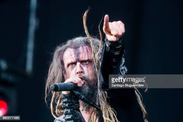 Rob Zombie performs on stage as part of Maximus Music Festival at Tecnopolis on May 06 2017 in Buenos Aires Argentina