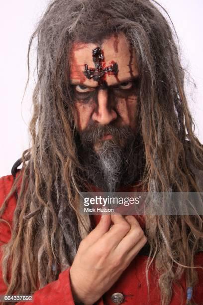 Rob Zombie studio portrait Download Festival 12th June 2011