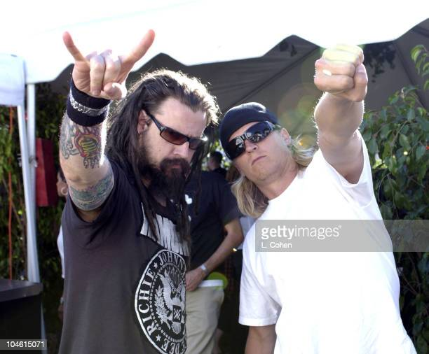 Rob Zombie Wesley Reid Scantlin of Puddle of Mudd