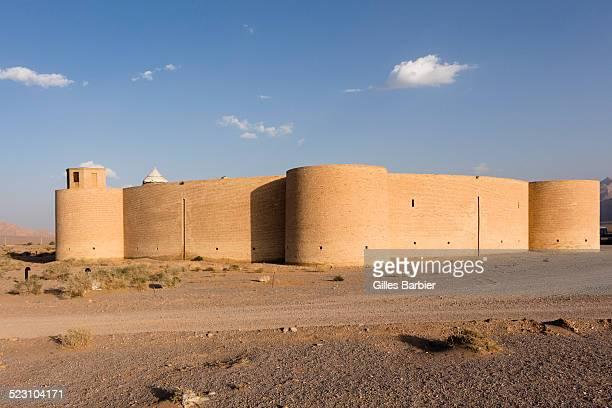 Robat-e Zayn al-Din Caravanserai, built by the Safavid government of Kerman on the Silk Road, Yazd, Iran