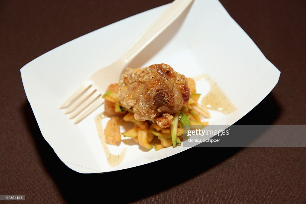 Robb Finns Dish 5 Spice Southern Fried Chicken Thigh On Display At