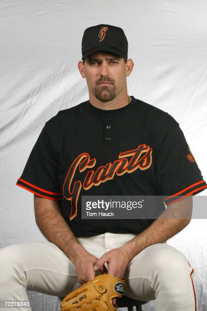 Robb Nen of the San Francisco Giants poses for a photo during Team Photo Day at Scottsdale Stadium in Scottsdale, Az. Digital Photo. Photo by Tom...