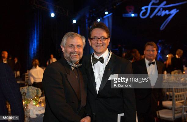 Robb Senn CEO of Gibson Guitars and Gabriel Abaroa President of the Latin Recording Academy
