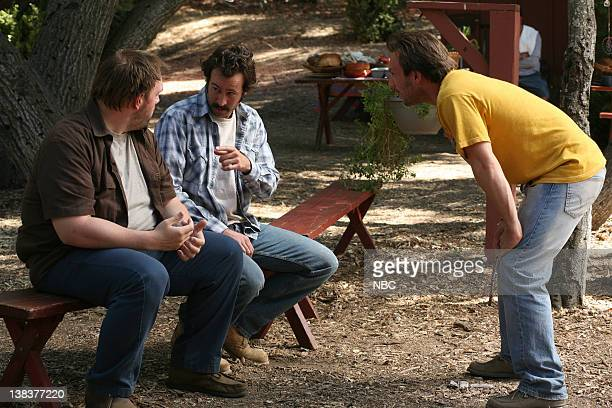 EARL Robbed a Stoner Blind Episode 8 Aired 11/16/06 Pictured Ethan Suplee as Randy Hickey Jason Lee as Earl Hickey Christian Slater as Woody