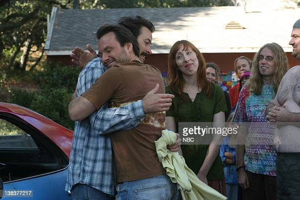 EARL Robbed a Stoner Blind Episode 8 Aired 11/16/06 Pictured Jason Lee as Earl Hickey Christian Slater as Woody