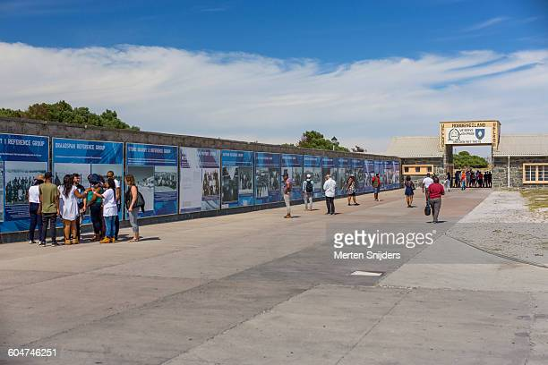 Robben Island entrance and exhibition