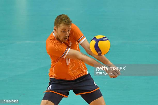 Robbert Andringa of the Netherlands during the European Championship Qualification match between Croatia and The Netherlands at Omnisport on May 16,...