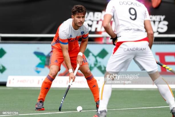 Robbert Kemperman of Holland during the Champions Trophy match between Australia v Pakistan at the Hockeyclub Breda on June 24 2018 in Breda...