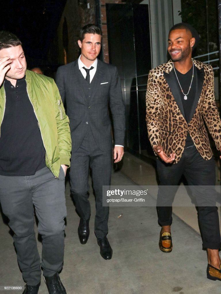 Celebrity Sightings In Los Angeles - February 21, 2018 : News Photo