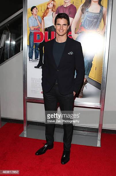 Robbie Amell attends The Duff New York Premiere at AMC Loews Lincoln Square on February 18 2015 in New York City