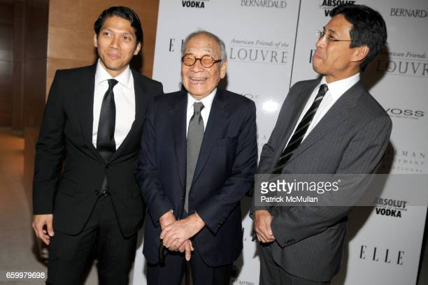 Robbie Antonio IM Pei and Li Chung Pei attend AMERICAN FRIENDS OF THE LOUVRE's Young Patrons Circle Soiree au Louvre 2009 at The Centurion on May 20...