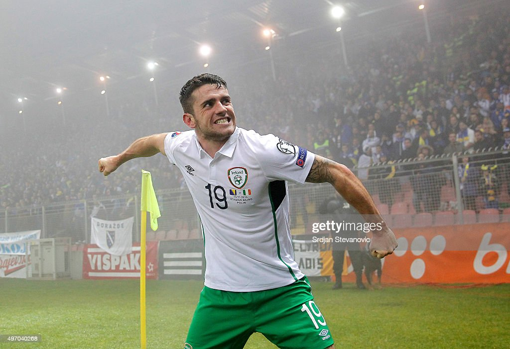 Bosnia and Herzegovina v Republic of Ireland - UEFA EURO 2016 Qualifier: Play-Off First Leg : News Photo