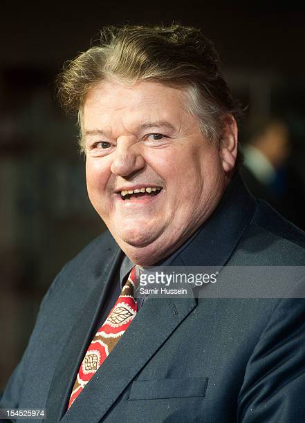 Robbie Coltrane attend the Closing Film Premiere for 'Great Expectations' during the 56th BFI London Film Festival at Odeon West End on October 21...