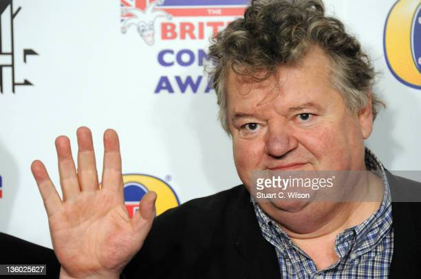 Robbie Coltrane attends the British Comedy Awards at Fountain Studios on December 16 2011 in London England