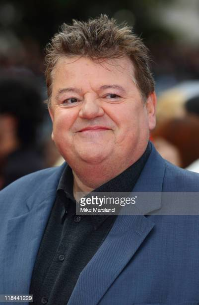 Robbie Coltrane attends the world premiere of 'Harry Potter And The Deathly Hallows Part 2' at Trafalgar Square on July 7 2011 in London England