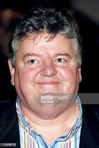 Robbie Coltrane during Harry Potter and the Goblet of Fire World Premiere Arrivals at Odeon Leicester Square in London United Kingdom