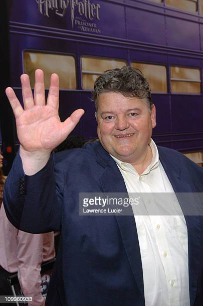 Robbie Coltrane during Harry Potter and the Prisoner of Azkaban New York Premiere Arrivals at Radio City Music Hall in New York City New York United...