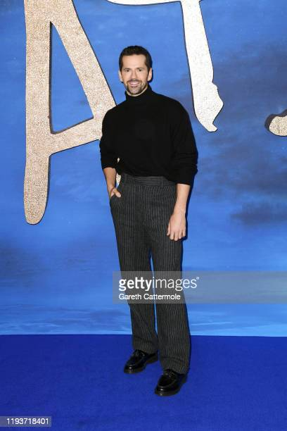 Robbie Fairchild attends the Cats photocall at The Corinthia Hotel on December 13 2019 in London England