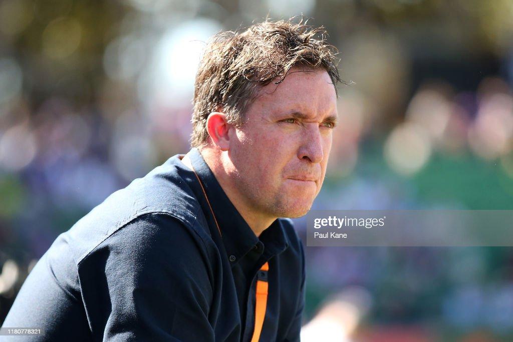 A-League Rd 1 - Perth v Brisbane : ニュース写真