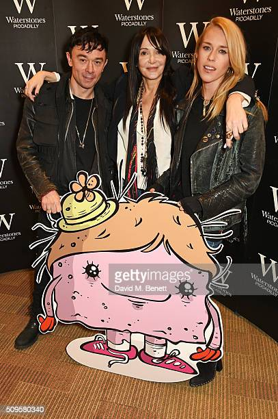 Robbie Furze Annabelle Neilson and Lady Mary Charteris attend the launch of Annabelle Neilson's new children's books 'Dreamy Me' and 'Messy Me' at...
