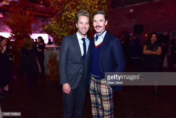 Robbie Gordy and Andrew Nodell attend the 2018 Aperture Gala at Cedar Lake on October 30 2018 in New York City
