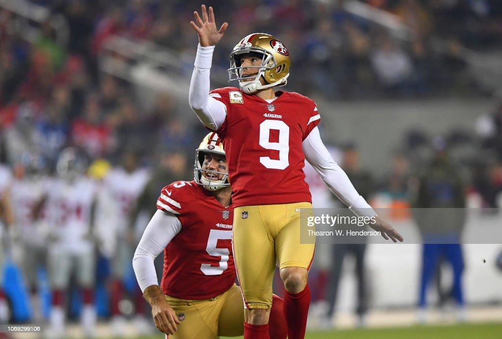 New York Giants v San Francisco 49ers : Fotografia de notícias
