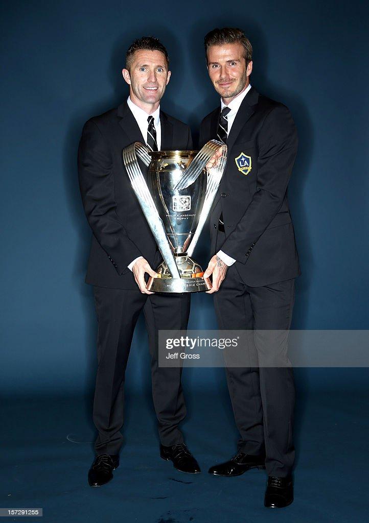 2012 MLS Cup Champions Los Angeles Galaxy Portraits : ニュース写真