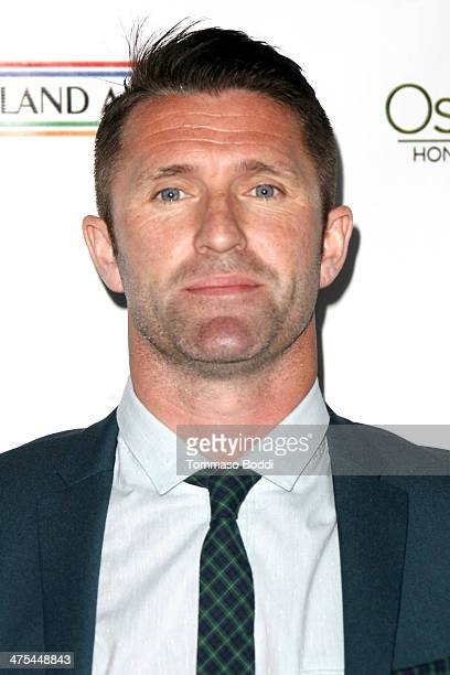 Robbie Keane attends the USIreland alliance preAcademy Awards event held at Bad Robot on February 27 2014 in Santa Monica California