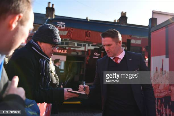 Robbie Keane during the Sky Bet Championship match between Brentford and Middlesbrough at Griffin Park on February 8, 2020 in Brentford, England.
