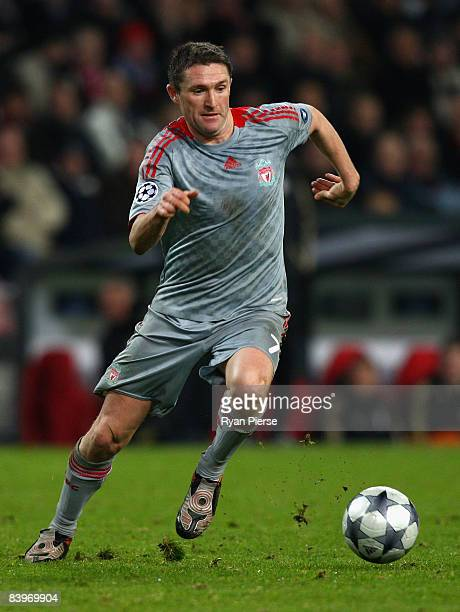Robbie Keane of Liverpool in action during the UEFA Champions League Group D match between PSV Eindhoven and Liverpool at the Philips Stadium on...