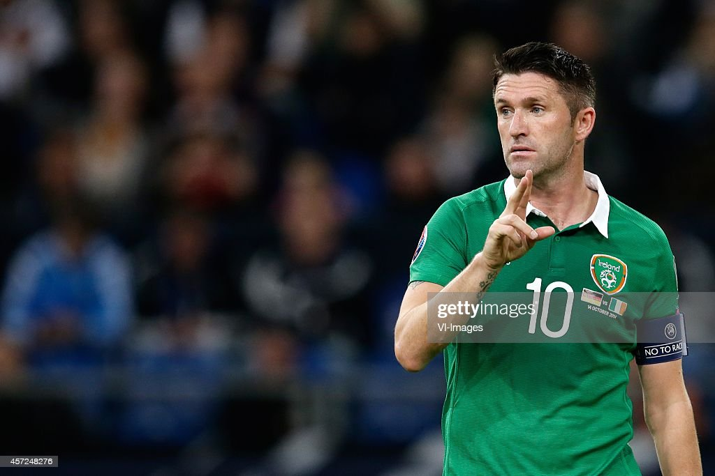 Euro Qualifier - 'Germany v Ireland' : News Photo