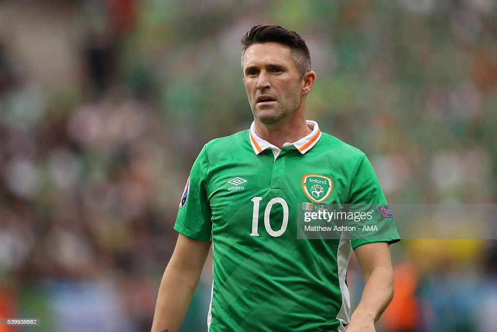Republic of Ireland v Sweden - Group E: UEFA Euro 2016 : News Photo
