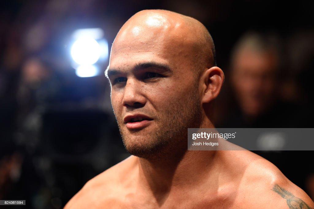 UFC 214: Lawler v Cerrone : News Photo