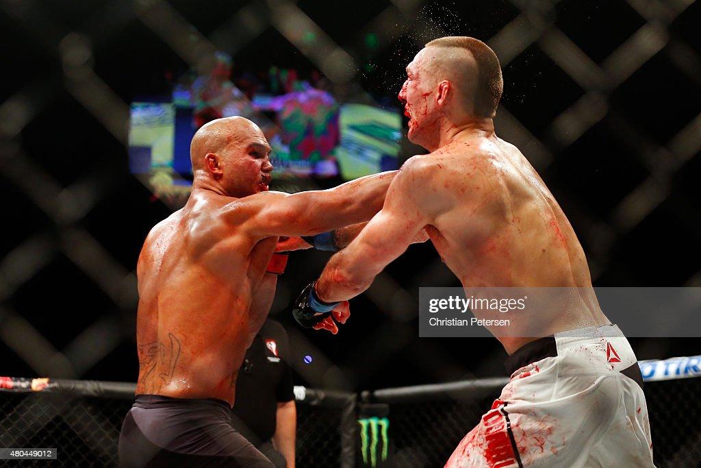 UFC 189: Lawler v MacDonald : News Photo
