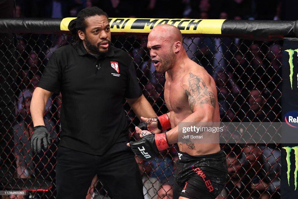 UFC 235: Lawler v Askren : News Photo
