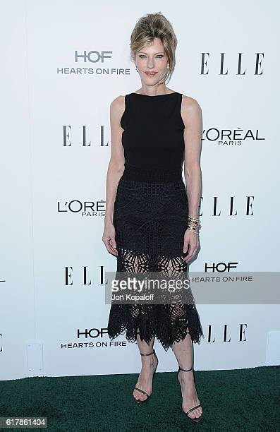 Robbie Myers arrives at the 23rd Annual ELLE Women In Hollywood Awards at Four Seasons Hotel Los Angeles at Beverly Hills on October 24 2016 in Los...