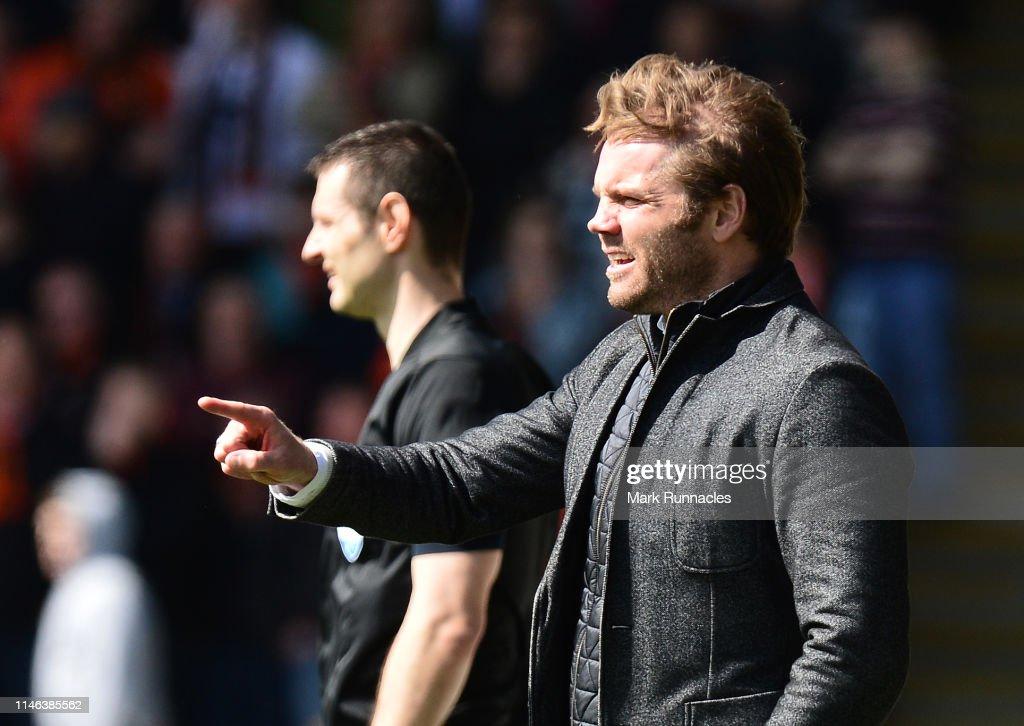St Mirren v Dundee United - Ladbrokes Scottish Premiership Play-off Final : News Photo
