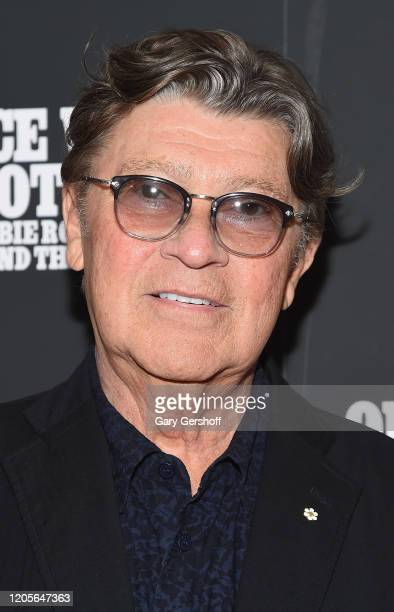 """Robbie Robertson attends the New York premiere of """"Once Were Brothers: Robbie Robertson And The Band"""" at Walter Reade Theater on February 11, 2020 in..."""