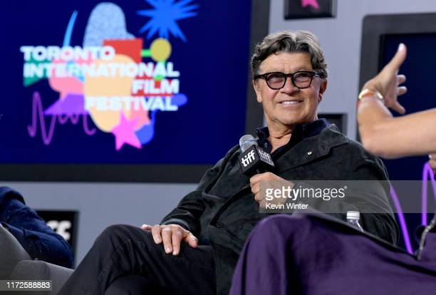 """Robbie Robertson attends the """"Once Were Brothers: Robbie Robertson and the Band"""" press conference during the 2019 Toronto International Film Festival..."""