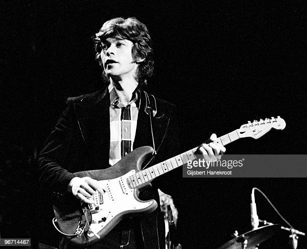 Robbie Robertson from The Band performs live on stage in Rotterdam Netherlands in 1971