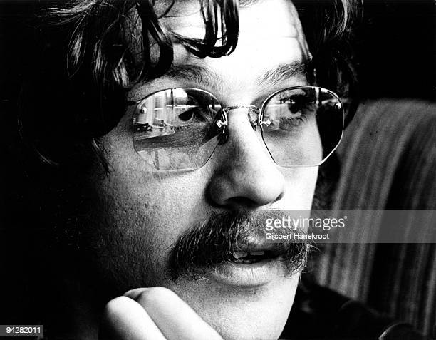 Robbie Robertson of The Band poses for a portrait in London in June 1971