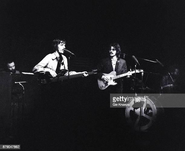 Robbie Robertson Rick Danko Garth Hudson Levon Helm The Band performing on stage Doelen Rotterdam Netherlands 6th June 1971