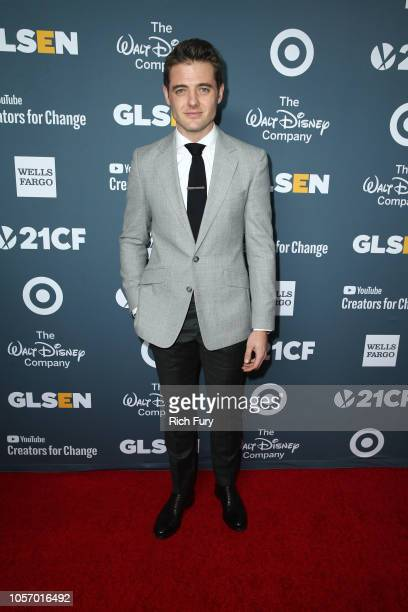 Robbie Rogers attends the GLSEN Respect Awards at the Beverly Wilshire Four Seasons Hotel on October 19 2018 in Beverly Hills California