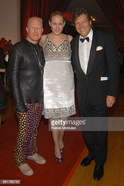 Robbie Sagar Ammy Sacco and Goffredo Marcattini attend La Dolce Vita Charity Gala Hosted by Trudie Styler with performance by Sting at Metropolitan...